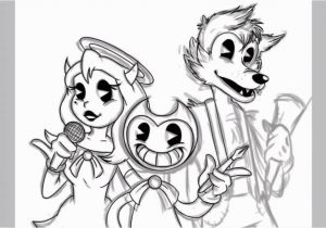 Bendy and the Ink Machine Coloring Pages Coloring Pages Bendy and the Ink Machine – Emperor Kids