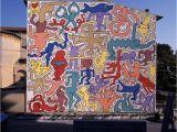Berlin Wall Mural Keith Haring Tuttomundo at Pisa Keith Haring