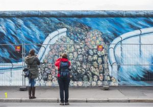 Berlin Wall Mural Kiss Berlin Installs A Security Fence to Protect East Side Gallery Wall
