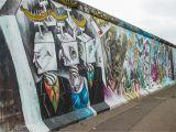 Berlin Wall Mural Kiss East Side Gallery In Berlin