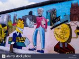 Berlin Wall Mural Kiss the Berlin Wall that Divided East From West Berlin In Germany This