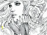 Best Coloring Pages for Adults People Coloring Pages Girl Coloring Pages Best Black and White