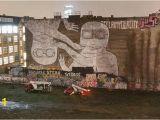 Beyond Walls Mural Festival 2018 Blu Murals are Gone Biggest Streetart Icon Of Berlin Got