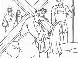 Bible Coloring Pages Jesus Resurrection Jesus Resurrection Coloring Page Luxury Cartoon Od Jesus Disciples