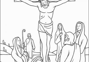 Bible Coloring Pages Jesus Resurrection Stations Of the Cross Coloring Pages 12 Jesus S On the Cross