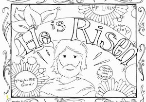 Bible Coloring Pages Jesus Resurrection Trendy Inspiration Easter Coloring Pages Religious He is Risen Page