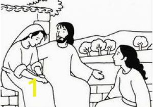 Bible Coloring Pages Mary and Martha 14 Best Mary and Martha Images