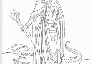 Bible Coloring Pages Mary and Martha Saint Martha Catholic Coloring Page Feast Day is July 29