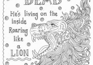 Bible Coloring Pages On Faith My God is Not Dead Roaring Like A Lion Coloring Page