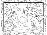 Bible Easter Coloring Pages Best Easter Coloring Pages About Jesus Fresh Incredible Easter Ruva