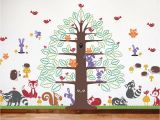Bible Story Wall Murals Books Of the Bible Wall Decal Happy Tree Animal Collection