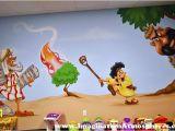 Biblical Murals Bible Story Church Murals Mural Inspiration