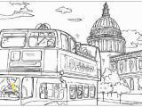 Big Ben Coloring Page London