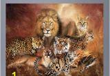 "Big Cat Wall Murals Wallhogs Cavalaris Cat Power Poster Wall Mural Size 36 5"" H"