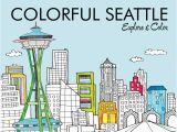 Big City Greens Coloring Pages Colorful Seattle Explore & Color Laura Lahm Steph Calvert