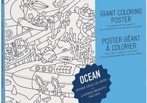 "Big City Greens Coloring Pages Omy Coloring Giant Poster Ocean Giant Creative Play 40"" X 28"""