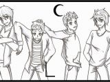 Big Time Rush Coloring Pages Printable Bigtimerush Free Colouring Pages