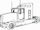 Big Truck Coloring Pages Best Coloring Truck Pages Free Long Trailer Page Perfect