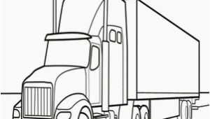 Big Truck Coloring Pages Semi Truck Coloring Page