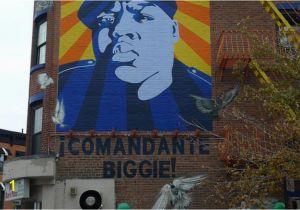 Biggies Wall Mural Biggie Smalls Death Anniversary Murals Art and More Tributes to