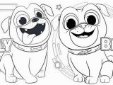 Bingo and Rolly Coloring Pages Pin Oleh Illustration Designer Di Puppy Dog Pals Coloring Pages