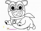 Bingo and Rolly Coloring Pages Puppy Dog Pals Captain Dog Coloring Page Rainbow Playhouse