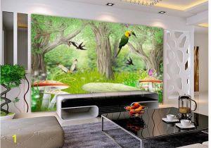 Birds Of Paradise Wall Mural ᗕcustom Photo Wallpaper 3d Wall Murals Wallpaper forest