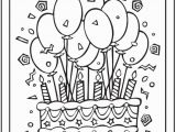 Birthday Balloons Coloring Pages Coloring Pages Birthday