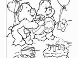 Birthday Care Bear Coloring Pages De Troetelbeertjes Kleurplaten Voor Kinderen Kleurplaat En