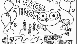 Birthday Coloring Pages to Print Birthday Coloring Pages Printable Coloring Chrsistmas
