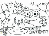 Birthday Coloring Pages to Print Free Birthday Coloring Pages Unique Free Birthday Coloring Pages to