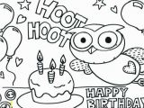 Birthday Coloring Pages to Print Happy Birthday Coloring Pages Best Printable Birthday Coloring