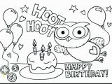 Birthday Coloring Pages to Print Happy Birthday Coloring Pages Happy Birthday Pages to Color Happy