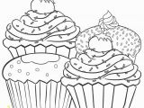 Birthday Cupcake Coloring Page Free Printable Cupcake Coloring Pages for Kids