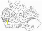 Birthday Cupcake Coloring Page Here Home Cupcake Various Cupcake Flavour Coloring Page