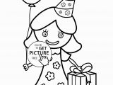 Birthday Party Coloring Pages for Kids Birthday Party Coloring Pages – Coloring Pages for Kids