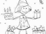 Birthday Party Coloring Pages for Kids Kids Birthday Party Coloring Book Page