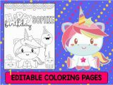 Birthday Party Coloring Pages for Kids Unicorn Birthday Party Coloring Pages the Crayon Crowd
