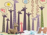 Birthday Party Wall Murals Billig Giraffe 3d Painting Wall Wall Print Decal Wall Deco