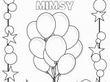 Birthday themed Coloring Pages Birthday Coloring Page Kiddos Holiday Seasonal