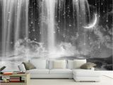 Black and White forest Mural Wallpaper Beibehang Custom Wallpaper Living Room Bedroom Mural Wallpaper Black