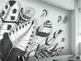 Black and White forest Wall Mural Black and White Wall Mural – Disenoycolor
