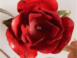 Black and White Rose Wall Mural Black and White Rose Close Up Photo Wallpaper Wall Mural