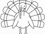Black and White Turkey Coloring Pages Turkey Coloring Page Free
