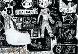 Black and White Wall Murals Of Paris Black and White Wall Mural – Disenoycolor