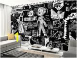 Black and White Wall Murals Uk Black and White Graffiti Wall Inspired Pinterest