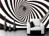 Black and White Wallpaper Murals for Walls Custom Wallpaper Modern 3d Abstract Living Room Wallpaper 3d