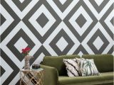 Black and White Wallpaper Murals for Walls Rocksand Geometric Black and White Wall Mural