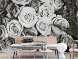 Black and White Wallpaper Murals for Walls Roses Black and White Wall Mural Riah S Lounge
