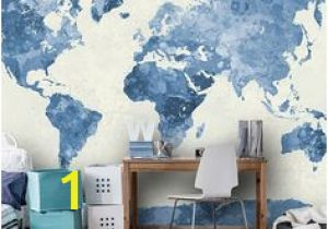 Black and White World Map Wall Mural 160 Best World Map Wallpaper Images In 2019